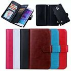 Multifunctional For Samsung Card Holder Leather Flip Cover Case Wallet Phone