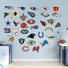NFL Fathead Logos 2016 OFFICIAL NFL Decals --SEE LIST-- *12in by 12in* $7.99 USD
