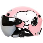F#80 Cycling Moto Casco Bicycle Motorcycle Black lovely pig Helmet Goggles Adult