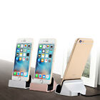 for iPhone 5s SE 6 6s Plus Desktop Charger Stand Dock Station Sync Charge Cradle