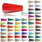 50Pcs 16mm Center Drilled Crystal Conical Tower Beads DIY Jewelry Making