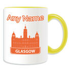 Personalised Gift Glasgow City Mug Money Box Cup Britain Chambers Council Name