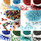 4500pcs/pound 6/0 4mm Glass Seed Beads Silver Lined Round DIY Beading Jewelry