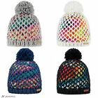 Barts Max beanie. Winter fleece lined hat with fluffy pom. New