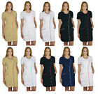 SPA Tunic Pockets Therapist Uniform Beauty Salon Dress Hair Massage Dentist Agne