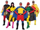 Adult Superhero Costume BOXER SHORTS Men Women Teen Hero Villain Group Funny