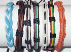 FRIENDSHIP BRACELET BLACK BLUE Rasta Cotton Hemp Leather Anklet Men Women New