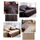 Sofa Living Lounge Couch Cover Convertible to Bed Throw with 2 Cushion Covers