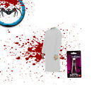 2 x HALLOWEEN Fancy Dress Costume Disposable Gown with Fake Blood