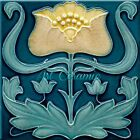 Art Nouveau Reproduction Decorative Ceramic tile 281