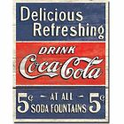 New Vintage Drink Coca Cola MAN CAVE Sign gift xmas new vintage £4.99  on eBay