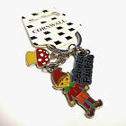 CORNISH PISKIE KEYRING KEY RING CORNWALL SOUVENIR KERNOW PIXIE LUCKY CHARM