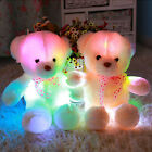 Christmas Gift Stuffed LED Light Plush Lovely Teddy Bear Doll Soft Baby Toy HOT
