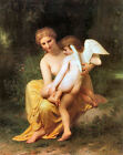 Classic French Academic Art Print - Wounded Eros by Bouguereau