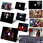 """Painted Heroes character Hard Cut-out Case Cover for Macbook Air/Pro 11""""13"""" 15"""""""