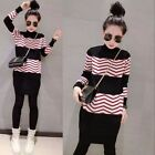 Sweet Korean Fashion Autumn Woman Stripe Turtleneck Pullover Sweater Tops 2016