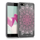 TPU SILICONE CRYSTAL CASE FOR WIKO LENNY 3 LIGHT PINK SOFT COVER BUMPER SILICON