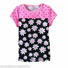 JUMPING BEANS Girls Shirt Size 3 months DAISY & DOT Short Sleeve Cotton Top NEW