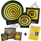 BB Gun Targets with 1000x6mm 12g airsoft pellets ammo catcher bundle deal choice