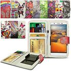 For alcatel Pop Icon - Clip Printed Series PU Leather Wallet Case