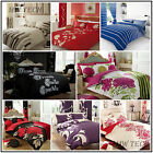 Duvet Cover with Pillowcases, Quilt Cover, Bedding Set - Single, Double, King