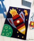 Flair Kiddy Play Children's Rugs Rocket