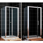 Bifold/ Pivot Shower Enclosure Door Glass Screen Walk In Cubicle and Tray