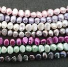 5-7mm Freshwater Cultured Pearl Round Oval Potato Freeform Beads Pearls