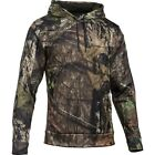 Mens Under Armour Hoodie Storm Armour Fleece Pullover Camo Mossy Oak NEW