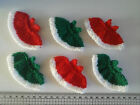 Christmas Dresses Card Toppers / Embellishments FREE UK POSTAGE