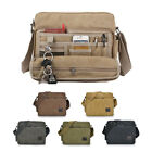 Men's Vintage Canvas Messenger Shoulder Bag Crossbody Sling