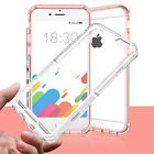For iphone 7 /7 Plus Mosafe® Shockproof Soft TPU Clear Hard Back Case Cover 6 6S