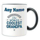 Personalised Gift World's Coolest Grandpa Mug Money Box Cup Novelty Relatives