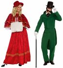 Christmas Caroler Dickens Victorian Costume Adult Holiday...