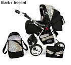 3 IN 1 VIP BABY PRAM PUSHCHAIR CAR SEAT SELECTION OF COLOURS AND WHEELS EXTRAS