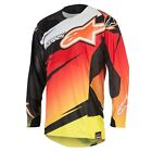 Alpinestars Techstar Venom Motocross Jersey Red Yellow Fluo Black NEW RRP £44.99