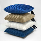 "Faux Fur Blockbusters 18"" x 18"" Square Cushion Covers"