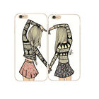 best case for samsung galaxy note 2 - Best Friends Besties style Hard Case Cover for iPhone 4S 5 5S 5C 6 6S 7 7 Plus