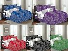 """Natural 6 Piece Branches (90""""X90 Inch) Reversible Printed Soft comforter set  image"""