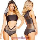 Women's lingerie set 3 pieces top underwear body network hood lingerie DL-1803
