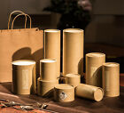 Variant Generic Kraft Paper Package For Green/Black/White Tea Canister
