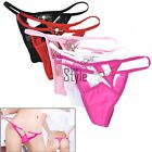 Women Sexy Lace V-string Briefs Panties Thongs G-string Lingerie Underwear TXST