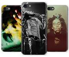 Bob Marley Raggie Music Rasta Rubber Plastic Phone Cover Case fits Apple iPhone