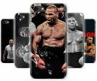 Mike Tyson Iron Boxing Legend Fighter Rubber Phone Cover Case fits Apple iPhone