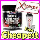 APS WHITE LIGHTNING EXTREME 60 SRV ORANGE // PRE WORKOUT POWDER WEIGHT LOSS