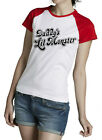 CAMISETA HARLEY QUINN DADDY'S LIL MONSTER T-SHIRT SUICIDE SQUAD HALLOWEEN