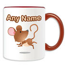 Personalised Gift Mouse Mug Money Box Cup Animal Sealife Design Theme Cute Mice