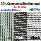 4m wide 30% Shade Cloth Horticultural Grade 90gsm - Cut To Order - POSTED