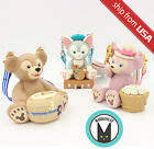 Tokyo Disney Sea Gelatoni ShellieMay Duffy Bear Candy Box Bucket Container Japan