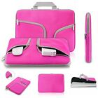"11~13.3"" Handle Zipper Rose Sleeve Bag Case Cover for Laptop Macbook Notebook"